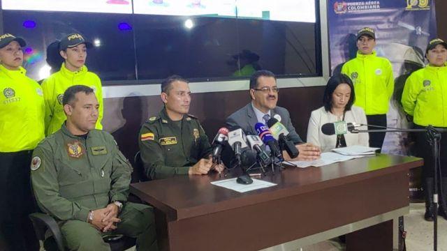 Autoridades de Colombia
