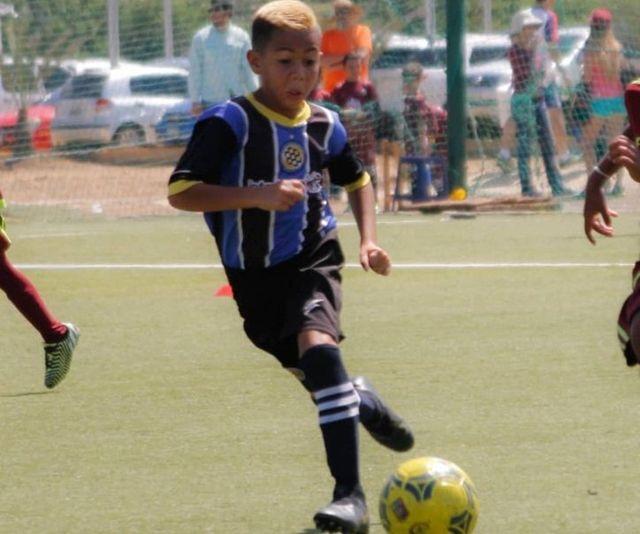 Brayan navarro, futbolista de 10 años asesinado.