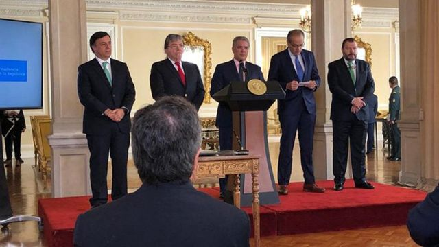 Ejecutivo de Colombia