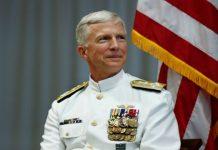 Craig Faller, Jefe del Comando Sur de Estados Unidos.