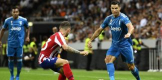 Cristiano Ronaldo, Juventus vs Atlético de Madrid