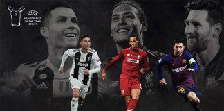 Cristiano, Van Dijk, Messi
