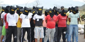 Detenidos en Táchira