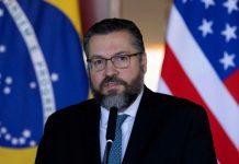 Ernesto Araújo, Canciller de Brasil.