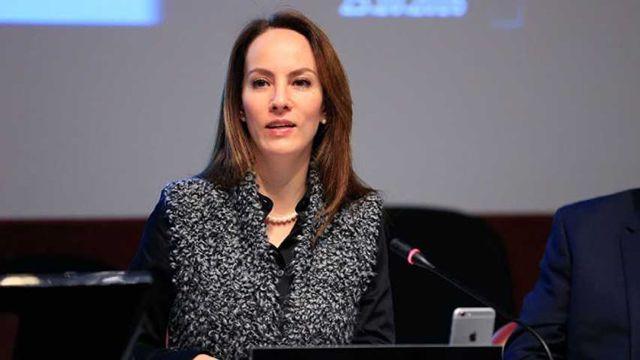 Gabriela Cuevas Barron, presidenta de la Unión Interparlamentaria.