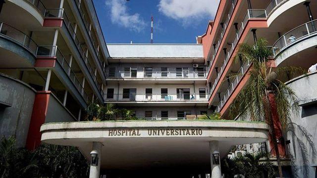 Hospital Universitario de Caracas.