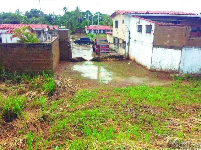 Inundaciones en El Tigrito