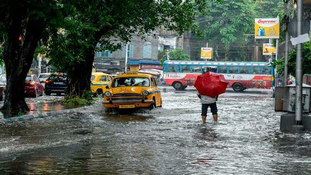 Lluvias en la India