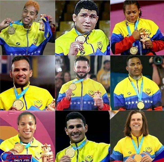Deportistas venezolanos que consiguieron medalla de oro