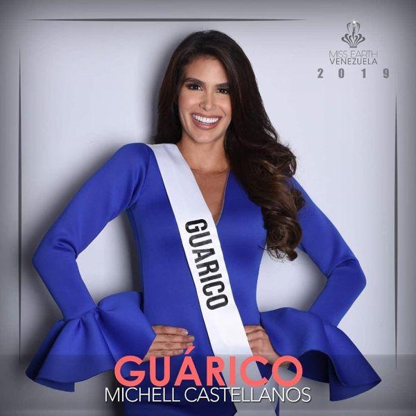 Michell Castellano, Miss Guárico