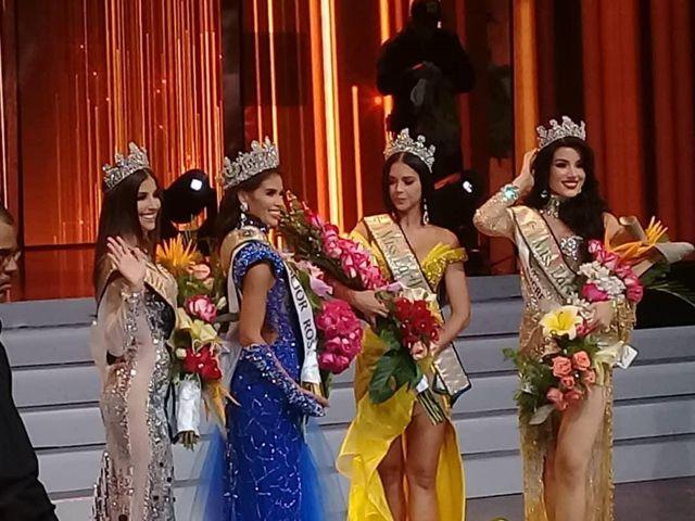 Ganadoras de bandas, Miss Earth Venezuela