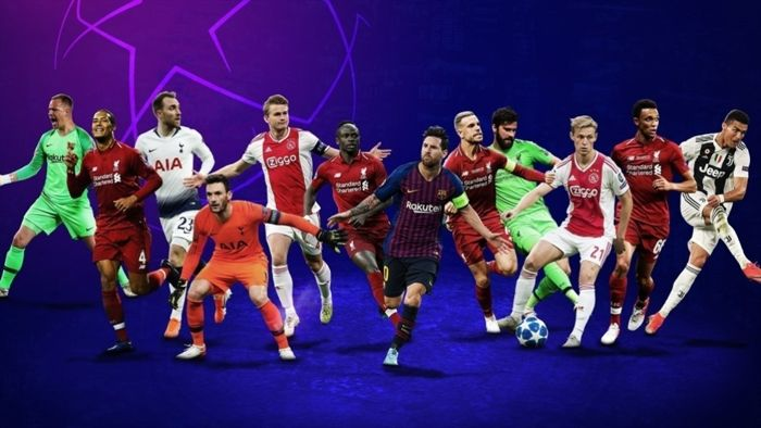 Nominados a mejores jugadores de la Champions y Europa League