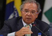 Ministro de Economía de Brasil, Paulo Guedes.