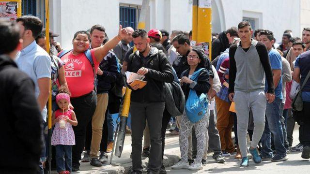 Venezolanos, Migración