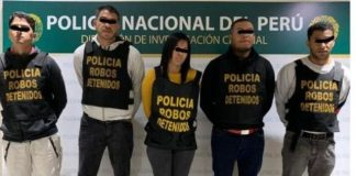 Veneolanos detenidos