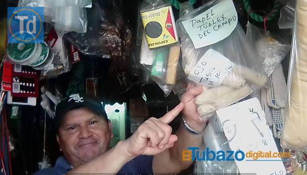 INSÓLITO / Venden tusa por papel tualet en un pueblo de Venezuela