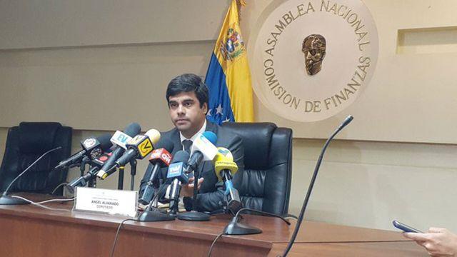 Diputado a la Asamblea Nacional, Ángel Alvarado.