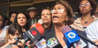 La presidenta del Colegido de Enfermeras de la Ciudad Capital, Ana Rosario Contreras.