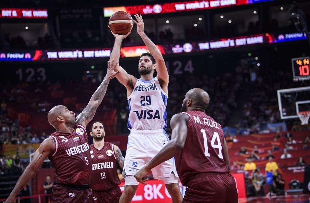 Argentina vs Venezuela, Copa Mundial de Baloncesto