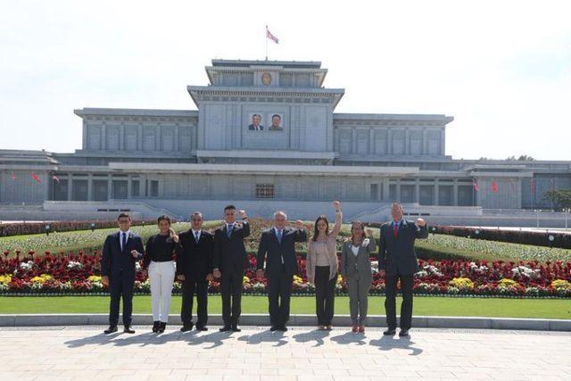 Delegación venezolana comandada por Diosdado Cabello.