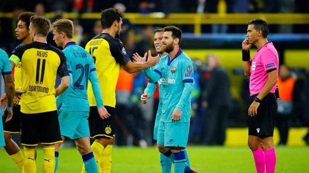 Borussia Dortmund vs Barcelona