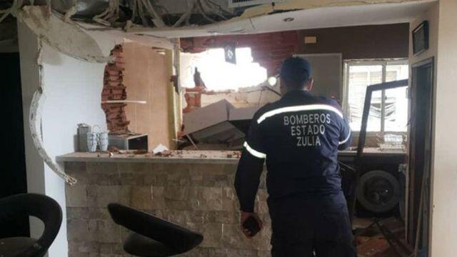 Explosión en vivienda, por gases fecales