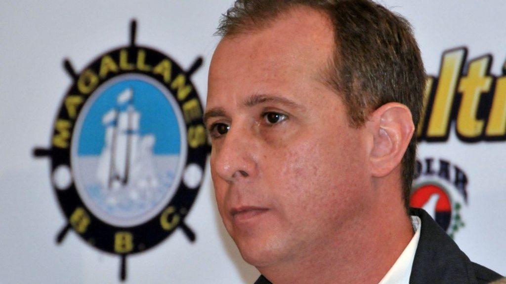 Giuseppe Palmisano, presidente del consejo directivo del Magallanes.