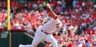 Jack Flaherty, Pitcher de los Cardenales de San Luis.