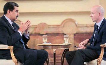 Nicolás Maduro en entrevista desde Rusia con el periodista Natanzon Stanislav Victorovich.