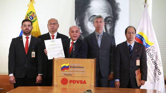 Manuel Quevedo, Ministro de Petróleo