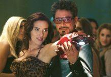 Scarlett Johansson y Robert Downey Jr
