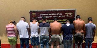 Secuestradores detenidos