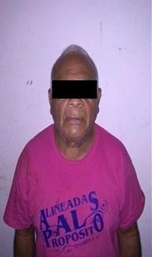 Sexagenario detenido