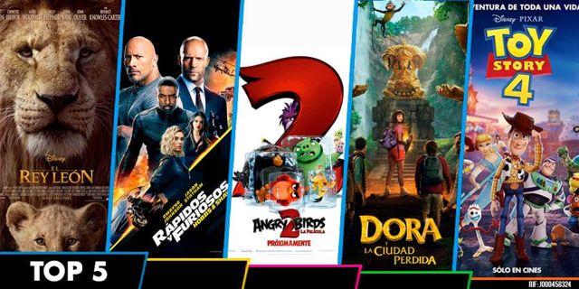 Top 5 mejores estrenos