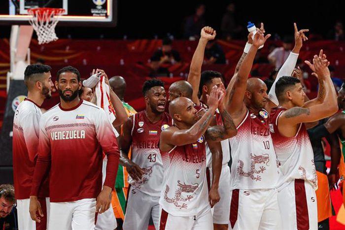 Selección de baloncesto de Venezuela.