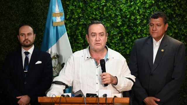 Presidente electo de Guatemala, Alejandro Giammattei.