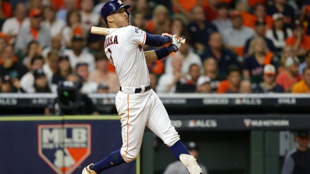Carlos Correa, Astros de Houston.