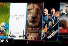 Top 5 estrenos