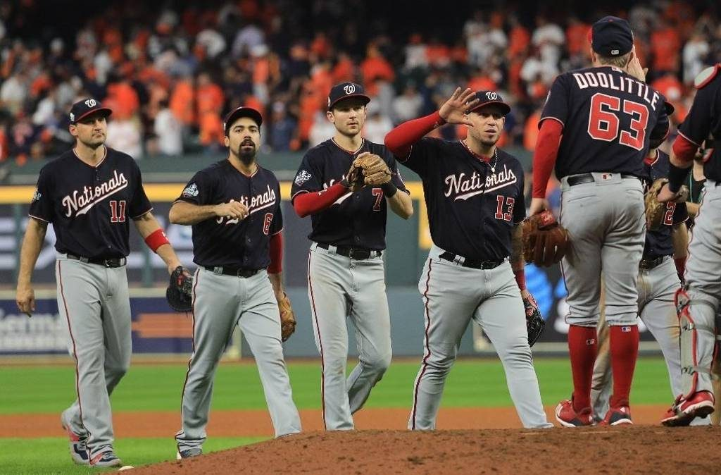 Los Nacionales de Washington vencieron a los Astros de Houston y forzaron un septimo y decisivo encuentro en la Serie Mundial.