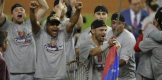 Los Nacionales de Washington se consagraron campeones de la serie mundial.