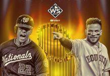 Serie Mundial 2019, Nacionales de Washington vs Astros de Houston.