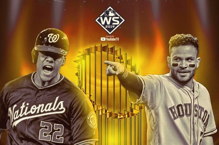 Serie Mundial 2019, Nacionales de Washington vs Astros de Houston.