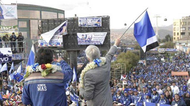 Partido Somos Más, Bolivia.