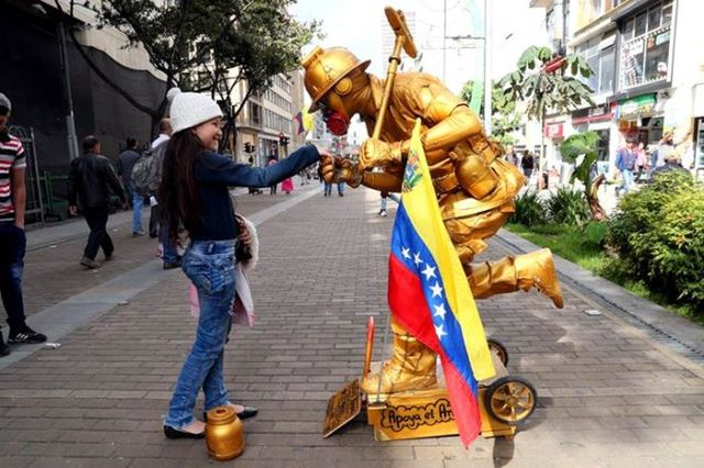 Venezolano estatua