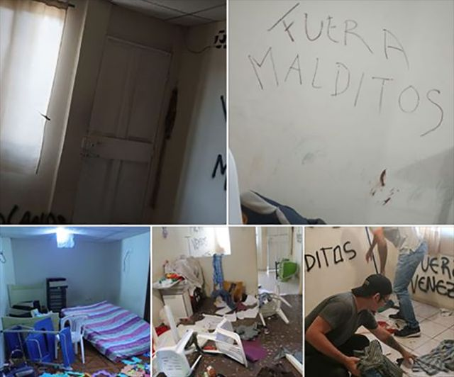 Xenofobia contra venezolanos en Perú.