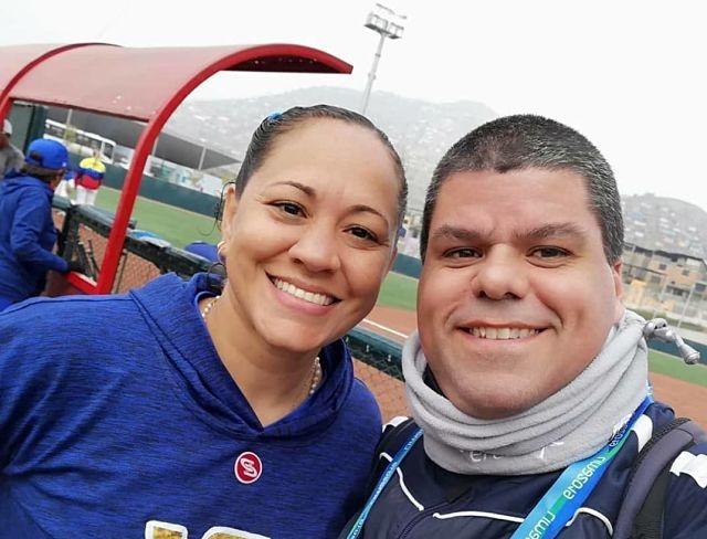 periodista deportivo del COMITE OLIMPICO VENEZOLANO