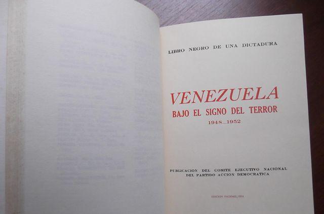 Venezuela bajo el signo del terror