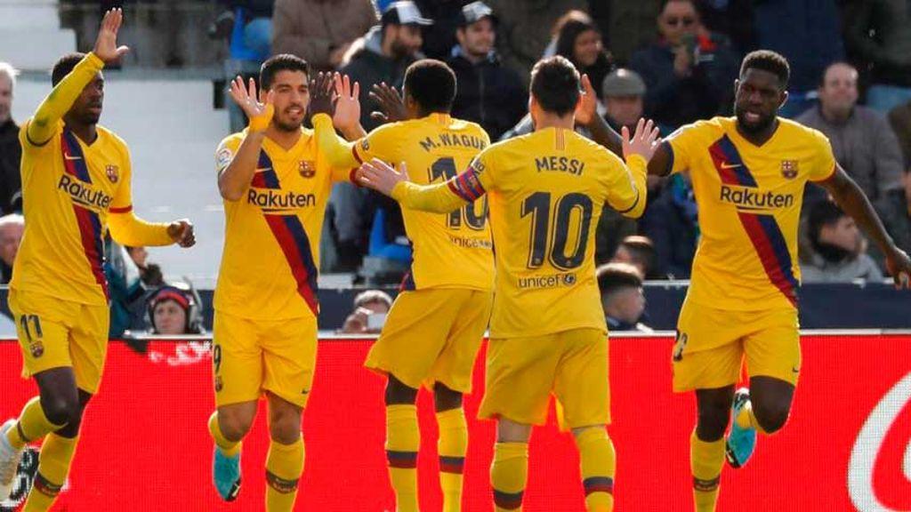 Leganés-Barcelona
