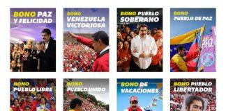 Bono Paz y Felicidad del Carnet de la Patria