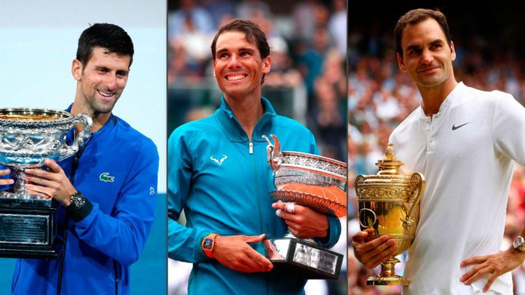 Así culminó el «Top 3» del ranking ATP